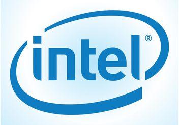 Intel Logo - бесплатный vector #153719