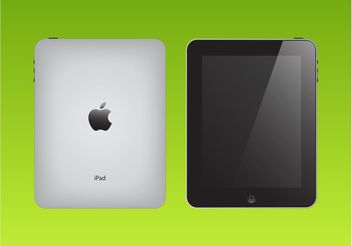 Apple iPad Vector - vector gratuit #153729