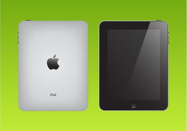 Apple iPad Vector - vector gratuit(e) #153729