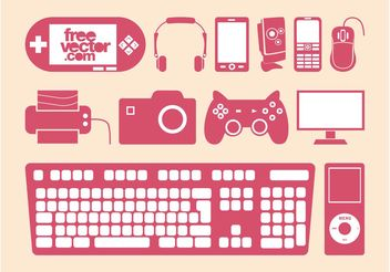 Vector Devices Set - Free vector #153799