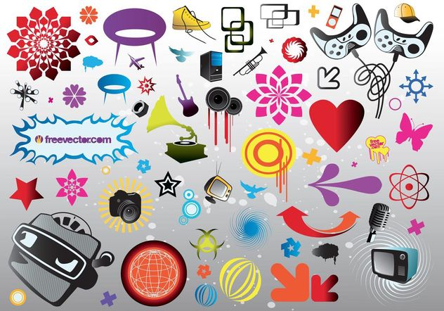 Download Vector Elements - vector #153929 gratis