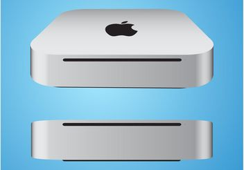 Mac Mini Vector - Free vector #153989