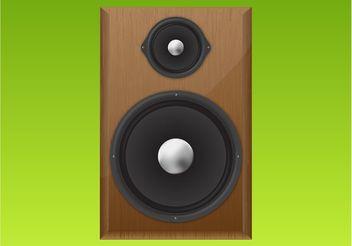 Realistic Speaker - vector #154219 gratis