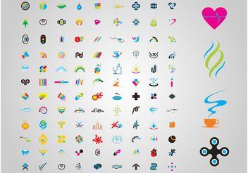 Versatile Logos - vector #154279 gratis