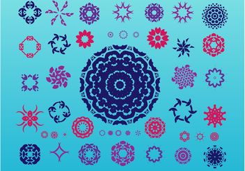 Geometric Design Elements - Free vector #154509