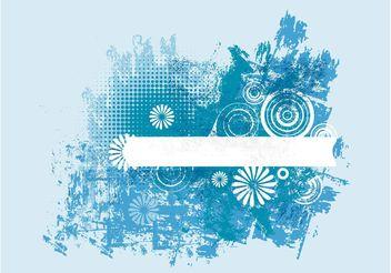 Blue Grunge Design - Kostenloses vector #154529