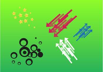Simple Design Elements - Free vector #154619