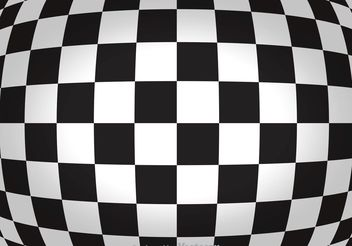 Abstract Checker Board Background - vector gratuit #154899