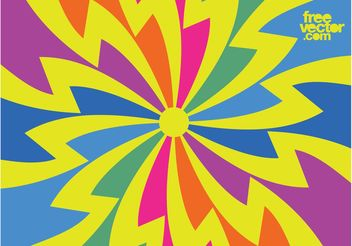 Psychedelic Background - Free vector #154929