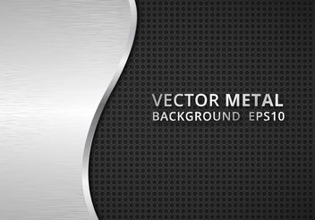 Free Vector Carbon Fiber And Metal Background - Free vector #155059