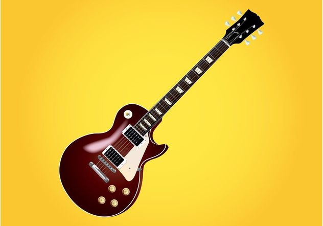 Les Paul Guitar - Free vector #155609