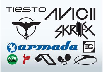 Best DJs - vector #155799 gratis