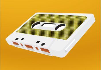 Cassette Vector - Kostenloses vector #155929
