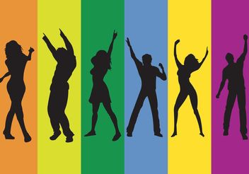 Rainbow Club - Free vector #156099