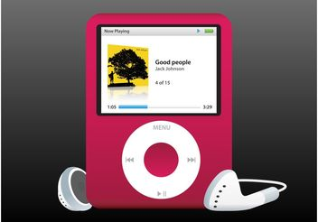 Apple Music Player - vector gratuit #156159