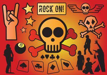 Rock Vectors - vector #156199 gratis