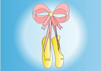 Ballet Shoes - Free vector #156269