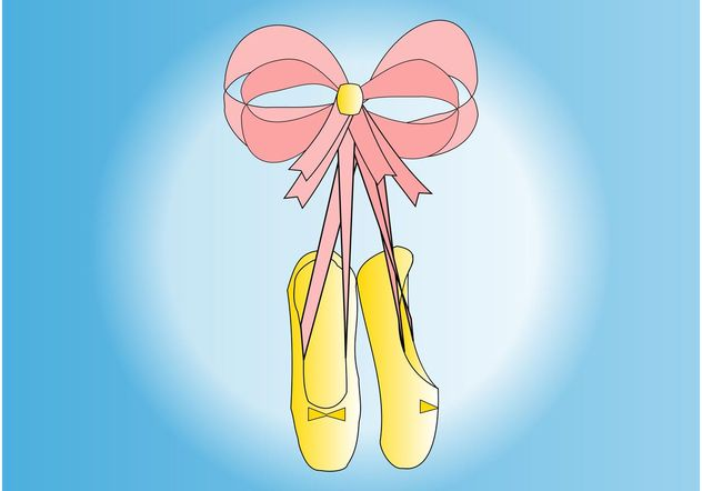 Ballet Shoes - vector #156269 gratis