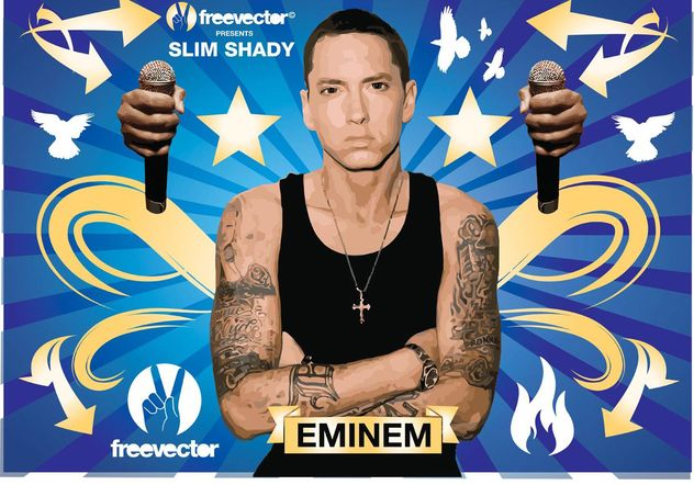 Eminem - vector #156469 gratis