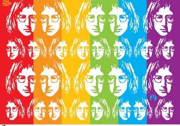 John Lennon Vector Art - Free vector #156519