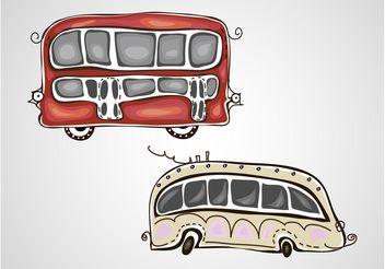 Vector Buses - vector #156809 gratis