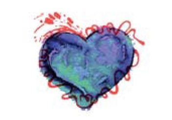 Free Colorful Watercolor Heart Vector - Free vector #156979