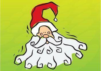 Santa Doodle - Free vector #157109