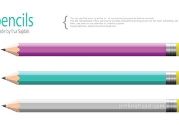 Illustrator Pencils - Kostenloses vector #157379