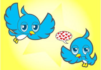 Bird Cartoons - Free vector #157749
