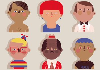 People Vectors - vector #157859 gratis