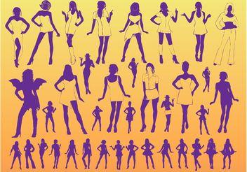 Sexy Women - Free vector #158559
