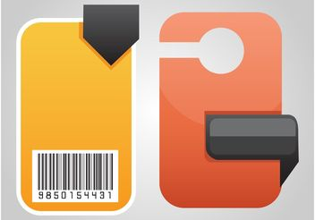 Product Labels - vector gratuit #158989
