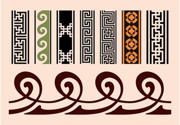 Vintage Banners - Free vector #159039