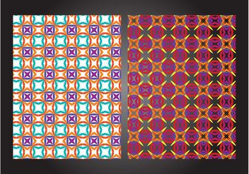 Colorful Patterns - Free vector #159289