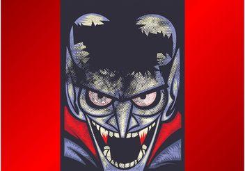 Vampire Poster - Kostenloses vector #159329