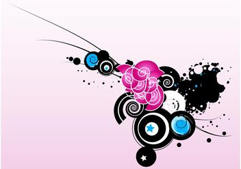 Graffiti Decoration - Free vector #159339