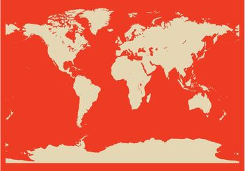 World Map - vector #159629 gratis