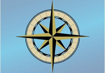 Traditional Compass - vector gratuit #159639