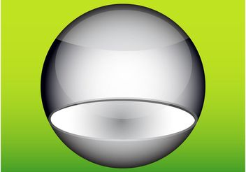 Shiny Sphere - vector #159859 gratis