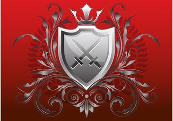 Heraldry Design - Free vector #160019