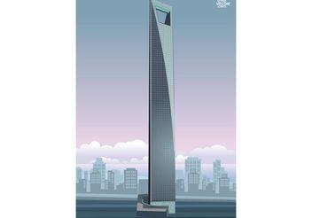 Shanghai Skyscraper - vector #161019 gratis