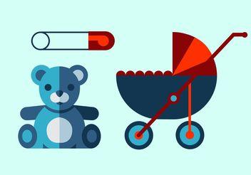 Baby Vector Set - Free vector #161059