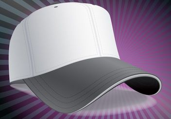 Baseball Cap - vector gratuit #161139