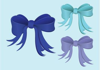 Ribbons Vector - Free vector #161189