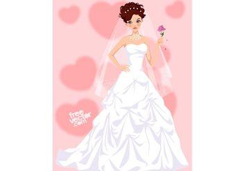 Bride - Free vector #161209