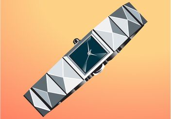 Metal Watch - vector #161229 gratis