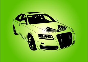Audi Car Vector - Free vector #161319