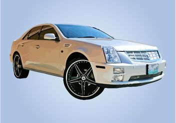 Luxury Car Vector - бесплатный vector #161339