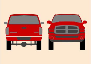 Pickup Vector - Free vector #161389