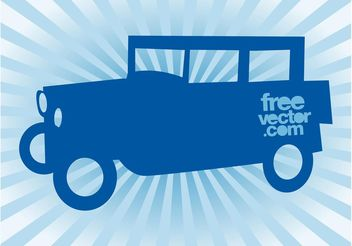 Vector Vintage Car - Free vector #161399